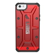 Urban Armor Gear IPH5S/SE-MGM Plastic Case for iPhone 5/5S/SE, Magma/Black