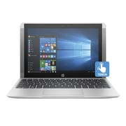 "HP® x2 Detachable X7U39UA 10.1"" 2-in-1 Notebook, Touch LCD, Atom x5-Z8350 1.44 GHz, 32GB, 2GB, Win 10 Home, Silver"