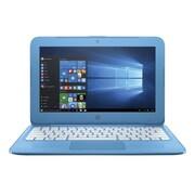 "HP® Stream X7V29UA 11.6"" Laptop, LCD, Celeron N3060 1.6 GHz, 32GB, 4GB, Win 10 Home, Aqua Blue"