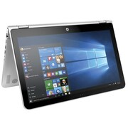 """HP® Pavilion x360 X0J69UA 15.6"""" 2-in-1 Notebook, Touch LCD, Core i5-6200U 2.3 GHz, 1TB, 6GB, Win 10 Home, Silver"""