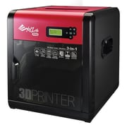 XYZ Printing da Vinci 1.0 Pro 3-in-1 3D Printer, Black/Red