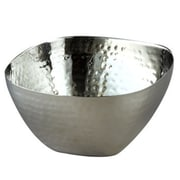 Heim Concept Elegance Stainless Steel Hammered Square Serving Bowl