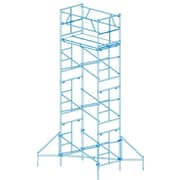 1.25' H x 72'' W x 18.96'' D Steel Scaffold Tower w/ 375 lb. Load Capacity Type 2A Duty Rating