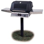 Modern Home Prod 48'' Heritage Natural Gas Grill w/ Drop Down Shelf