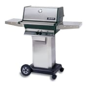 Modern Home Prod 56'' Heritage Portable Natural Gas Grill w/ Drop Down Shelf
