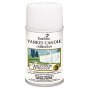 TimeMist® Yankee Candle® Collection Aerosol Fragrance Refills, 6.6 oz, Clean Cotton®, 12/Carton (1042828)