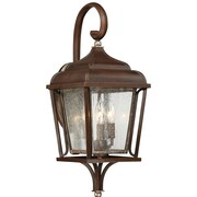 Laurel Foundry Modern Farmhouse Evelin 3 Light Outdoor Wall Lantern