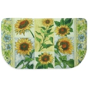 Bacova Guild Sun Worshippers Memory Foam Slice Kitchen Mat; 1'6'' x 2'6''