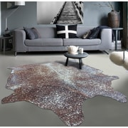 Rug Factory Plus Gleaming Soft on Hand-Woven Brown Area Rug
