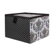 Bacati Classic Damask Storage Box; Large