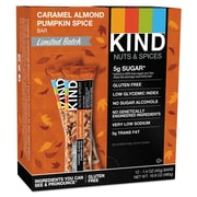 KIND Nuts and Spices Bar, Caramel Almond Pumpkin Spice, Snack Bar, 1.4 oz (24482)