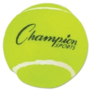 "Champion Sports Tennis Balls, 2 1/2"", Yellow, 3/Pack (TB3)"