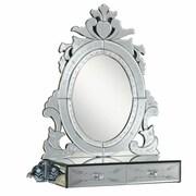 Elegant Lighting Venetian Glass Wall Mirror