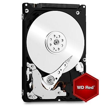 WD Red 1 TB NAS Internal Hard Drive, SATA, 6 GB/s, 2.5