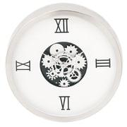 Urban Designs Industrial Gear Round 14'' Wall Clock; White