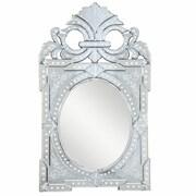 Elegant Lighting Venetian Arch/Crowned top Glass Wall Mirror