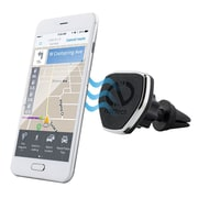 Naztech® MagBuddy™ Universal Magnetic Air Vent Mount for Smartphones/Tablets/GPS Units, Black (13571)