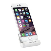Naztech® MFi Lightning® Charge and Sync Super Dock, 13289, Lightning/Micro USB, Piano White