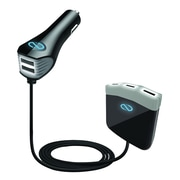 Naztech® RoadStar 12 A 5 USB Vehicle Charger for Mobile Devices, Black (13612)