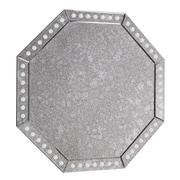 Elegant Lighting Antique Gray Glass Wall Mirror