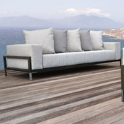 SolisPatio Nubis Deep Seating Sofa w/ Cushions