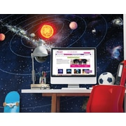 Brewster Home Fashions Solar System Wall Mural