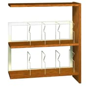 Ironwood Glacier 41'' Standard Bookcase; Oiled Cherry