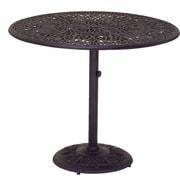 AIC Garden & Casual Windsor Round Cast Aluminum Bar Table