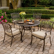 Hanover Traditions 5 Piece Dining Set