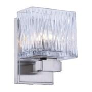 Elegant Lighting Torrent 1 Light Wall Sconce; Light Antique Brass