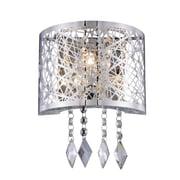 Elegant Lighting Finley 1-Light Wall Sconce; Matte Dark Brown
