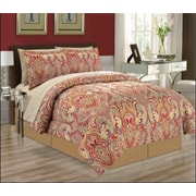 Manhattan Heights Majorca 8 Piece Bed in a Bag Set; Queen