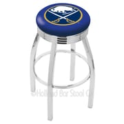 Holland Bar Stool NHL 30'' Swivel Bar Stool; Buffalo Sabres