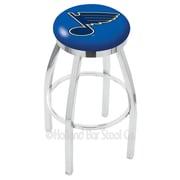 Holland Bar Stool NHL 36'' Swivel Bar Stool; St Louis Blues