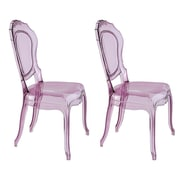 UrbanMod Barokai Side Chair; Purple