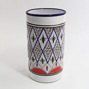 Le Souk Ceramique Tabarka Stoneware Utensil Holder