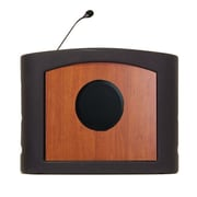 Accent Lecterns Dan James Original Accent Presenter Table Top Lectern; Black/Cherry