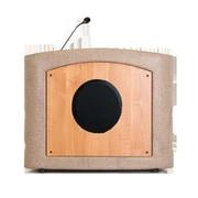 Accent Lecterns Dan James Original Accent Presenter Table Top Lectern; Beige Granite/Maple