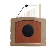 Accent Lecterns Dan James Original Accent Presenter Table Top Lectern; Bronze Granite/Cherry