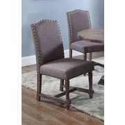BestMasterFurniture Side Chair (Set of 2); Otter