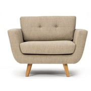 Nordic Upholstery Freya Club Chair; Curry Yellow