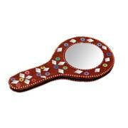 Novica Embellished Hand Mirror