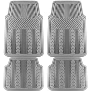 OxGord® All-Weather Floor Mats, 4pc, Arrow Style, Assorted Colors