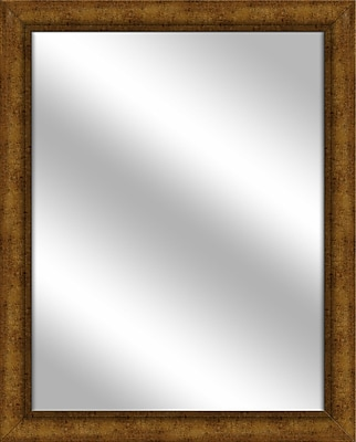 PTM Images Vanity Wall Mirror; Gold