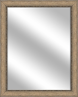 PTM Images Vanity Wall Mirror; Medium Champagne