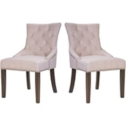 Merax Upholstered Arm Chair (Set of 2)