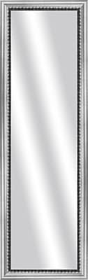 PTM Images Imperial Wall Mirror; Stainless Silver