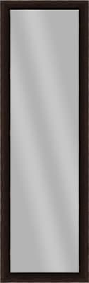 PTM Images Imperial Wall Mirror; Espresso