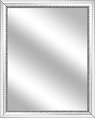 PTM Images Vanity Wall Mirror; White