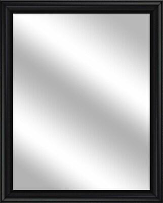 PTM Images Vanity Wall Mirror; Black